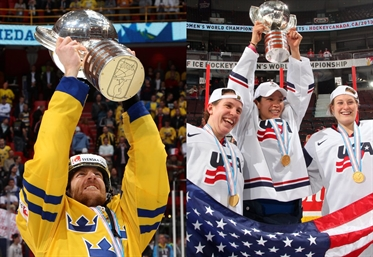 Sweden, USA lead rankings