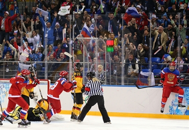 Russia rallies past Germany