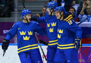 Swedes come out firing